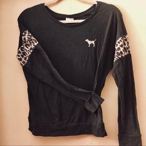 PINK by Victoria's Secret L/S Crewneck Sweater